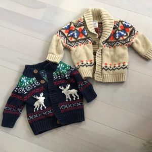 Other - Knit button downs. 3-6 M and 6M